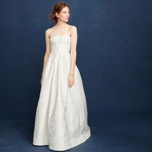 J. Crew Ella Wedding Gown Size 6 NWT